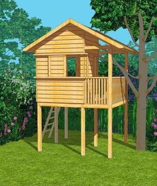 Prezent dla prenumeratorów! Projekt gotowy domku dla dzieci!